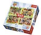 Puzzle Příběh hraček 4, 4 v 1 (35,48,54,70 dílků)