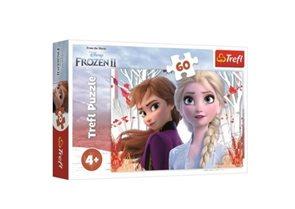 Puzzle Ledové království 2: Kouzelný svět Anny a Elsy 60 dílků