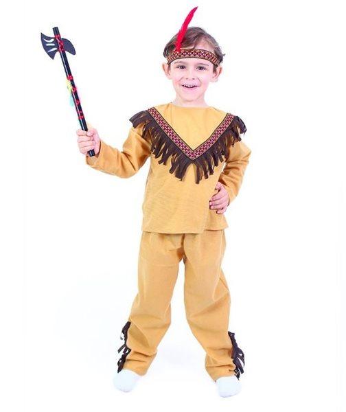 Kostým indián dětský - vel. M