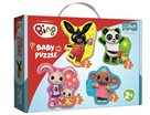 Baby puzzle Bing 4 v 1 (3,4,5,6 dílků)