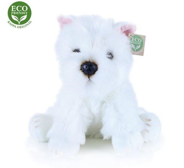 Plyšový pes westík sedící, 30 cm