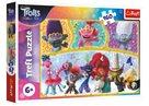 Puzzle Trolls world tour Šťastný svět Trollů 41x 27,5 cm, 160 dílků