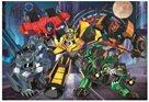 Puzzle Tým Autobotů - Transformers Robots in Disguise 100 dílků, 41 x 27,5 cm