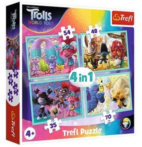 Puzzle 4 v 1 Trollové koncertní turné