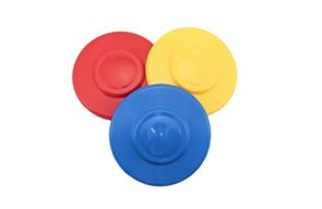 Létající talíř plast průměr 23 cm, mix barev