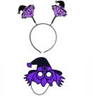 Čelenka s maskou Čarodějnice