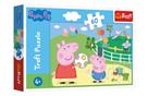 Puzzle Prasátko Peppa - Zábava s přáteli, 60 dílků