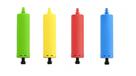 Pumpa na balónky, mix barev