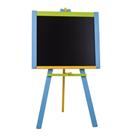 Tabule stojanová modrá sololit dřevěná 100 x 56 cm