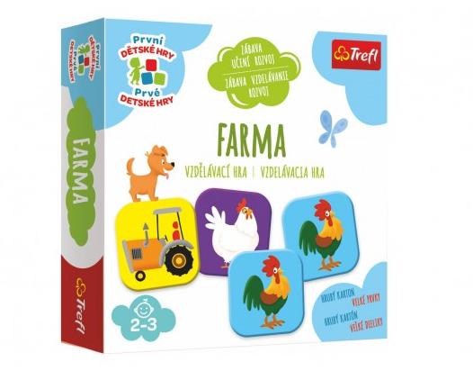 Farma vzdělávací společenská hra pro nejmenší