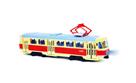 Tramvaj, která hlásí zastávky česky, 28 cm