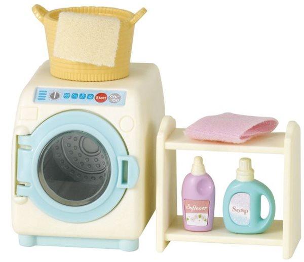 Sylvanian Families Pračka a příslušenství set