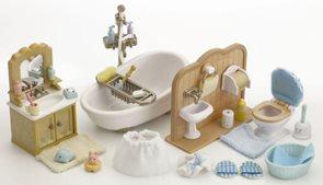 Sylvanian Families Vybavení - koupelna s toaletou