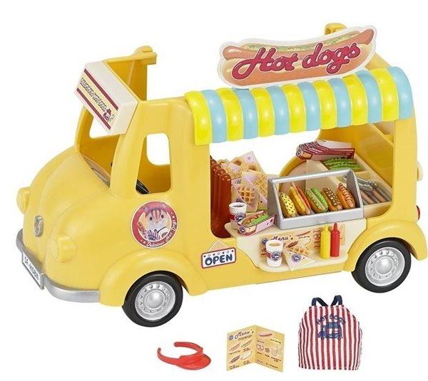 Sylvanian Families Pojízdný obchod s Hot Dogy, Sleva 12%