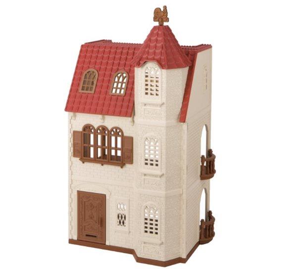 Sylvanian Families Dům s věží a červenou střechou, Sleva 15%