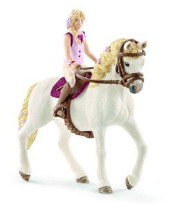 Schleich 42515 Blondýna Sofia a kůň Blosom