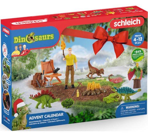 Schleich 98264 Adventní kalendář dinosauři, Sleva 22%