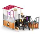 Schleich 42437 Stáj s koněm klubová, Tori + Princess