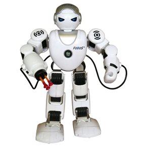 Robot RC FOBOS interaktivní chodící, 40cm na baterie s USB