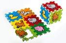 Pěnové puzzle Moje první zvířátka 15x15 cm