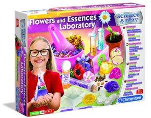 Dětská laboratoř - Výroba esencí z květin