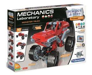 Mechanická laboratoř - Monster truck, 10 modelů, 200 dílků