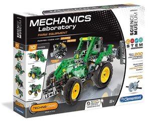 Mechanická laboratoř - Farmářský traktor, 10 modelů, 200 dílků