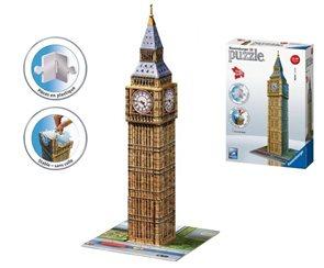 Puzzle 3D Big Ben, 216 dílků