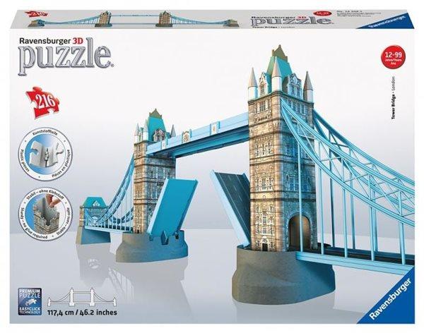 Puzzle 3D Tower Bridge, 216 dílů, Sleva 10%