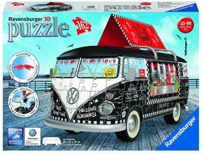 Puzzle 3D VW Autobus pojízdné občerstvení - 162 dílků