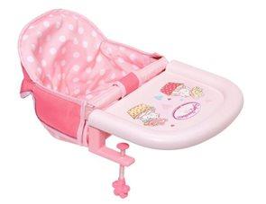 Baby Annabell - Jídelní židlička s uchycením na stůl