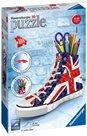 Puzzle 3D Kecka Union Jack, 108 dílků