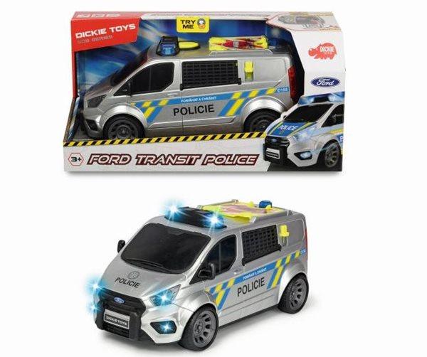 Policejní auto Ford Transit