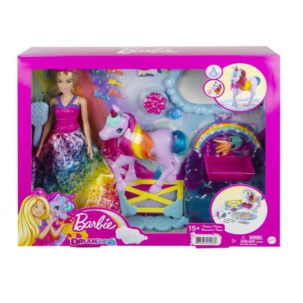 Barbie Princezna a duhový jednorožec, herní set
