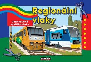 Regionální vlaky - jednoduché vystřihovánky