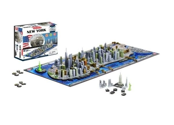 Puzzle 4D - Cityscape Time panorama New York