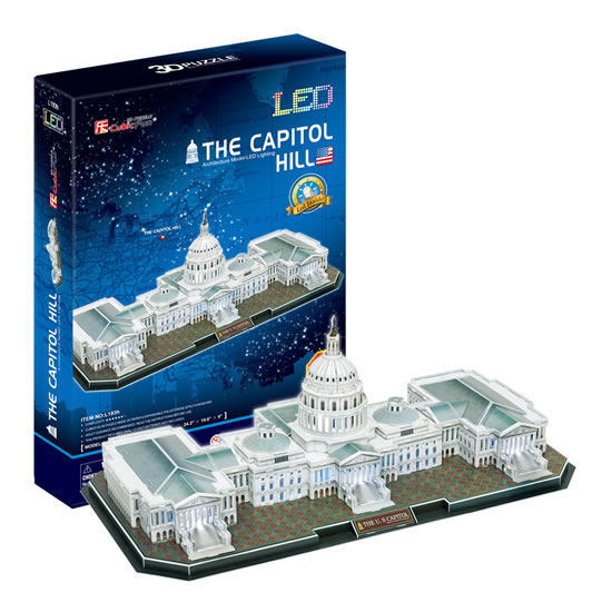 Puzzle 3D The Capitol Hill - 23x33 cm