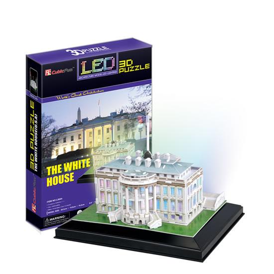Puzzle 3D White House - 23x33 cm