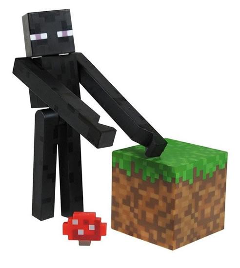 Figurka Minecraft - Enderman - 15x18 cm
