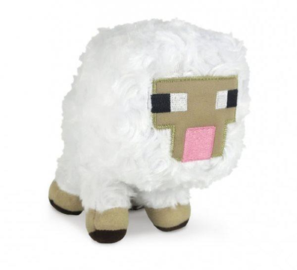 Figurka Minecraft - Ovce plyš 15 cm - 12x16 cm