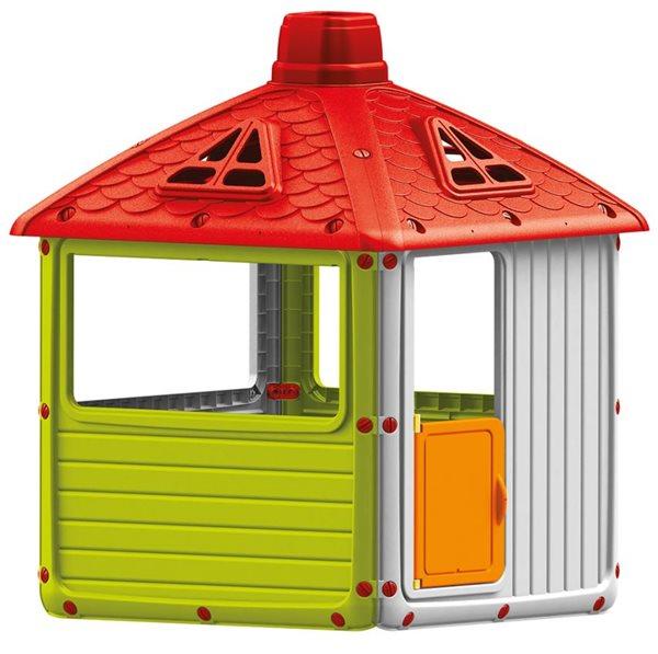 Dětský plastový domeček - DOLU, Doprava zdarma