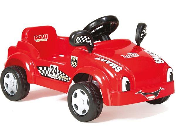 Šlapací auto červené DOLU