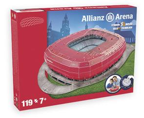 Puzzle 3D Nanostad: Alianz Arena Bayern Munchen