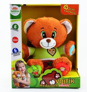 TEDDIES Mluvící medvěd Vojtík - vypravěč pohádek