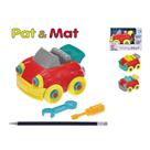 Auto Pat a Mat 13 cm šroubovací 3 barvy