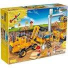 Banbao stavebnice Construction stavební auto 315ks + 4 figurky