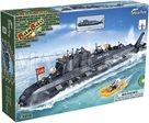 BanBao stavebnice Defence Force ponorka (502ks + 4 figurky) ToBees v krabičce