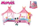 Minnie stánek cukrovinky 14x14cm s kloubovou figurkou 8cm a doplňky 17ks
