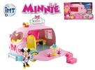 Minnie auto cukrárna 25cm na baterie se světlem a zvukem s kloubovou figurkou a doplňky