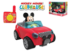 Mickey Mouse R/C cabriolet 16cm 2,4GHz na baterie 18m+